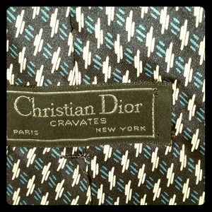 Christian Dior tie.